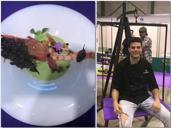 El plato ganador del concurso Cocina con Ajo Morado de las Pedroñeras