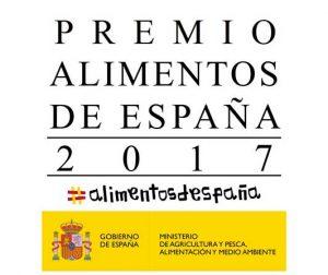 Cartel premios Alimentos de España 2017