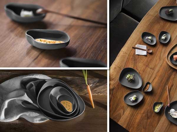Fotos de la vajilla Yayoi Beltz de Cookplay