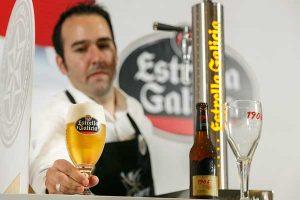 Campeonato de tirase de cerveza Estrella Galicia
