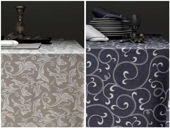 Manteles estampados de Vayoil textil