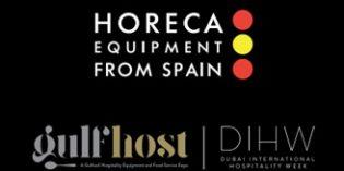 La industria española de equipamiento hostelero, presente en la feria GulfHost de Dubái
