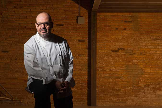 El chef Jordi Herrera