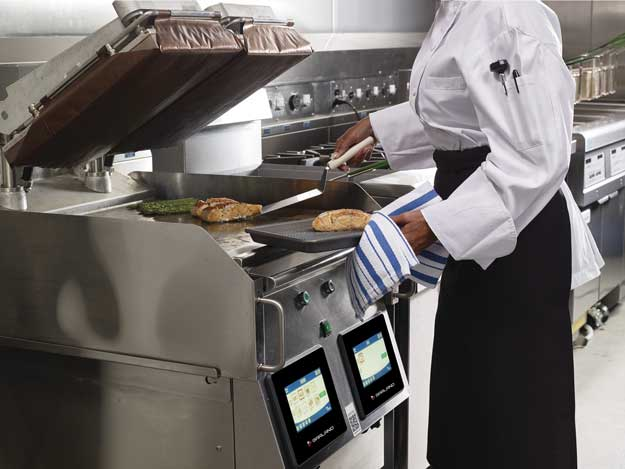 Plancha doble Garland Master Series XPress Grill