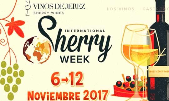 Logo de la International Sherry Week 2017