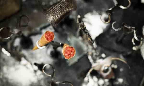 Cornetes de bacalao a la llauna, de Jordi Herrera