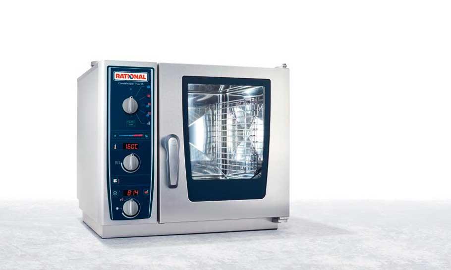 El potente horno CombiMaster Plus de Rational, ahora en formato mini o XS