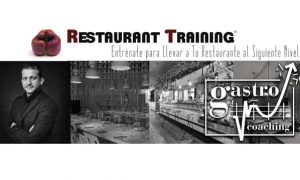 Cartel de Restaurant Training