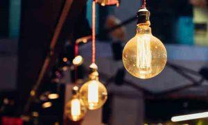 Iluminación en un bar
