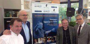 La alta cocina homenajeará a Rafael García Santos, el crítico que revolucionó la gastronomía española
