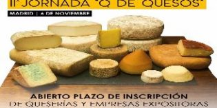 La 2ª Jornada Q de Quesos ofrecerá más de 200 variedades de quesos para degustar