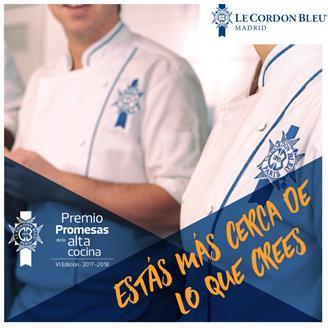 remio Promesas de la Alta Cocina de Le Cordon Bleu Madrid