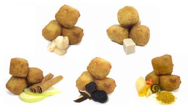 Croquetas gastronómicas de VACinBAG