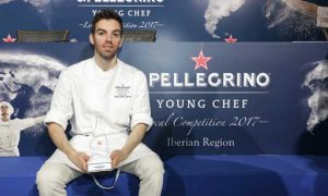 David Andrés, el vencedor de la semifinal de España y Portugal