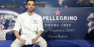 David Andrés gana por tercera vez la final ibérica de S.Pellegrino Young Chef 2017