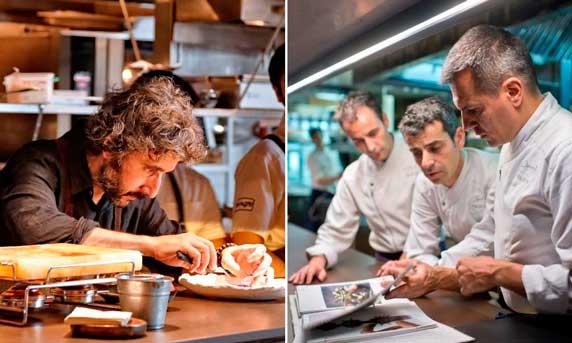 Los nuevos chefs con tres soles de la Guía Repsol 2018