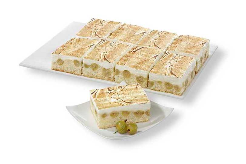 Plancha de Grosella espinosa y merengue de Erlenbacher
