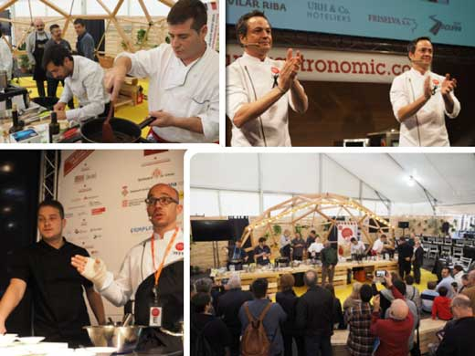 IMágenes del Forum gastronomic Girona 2015