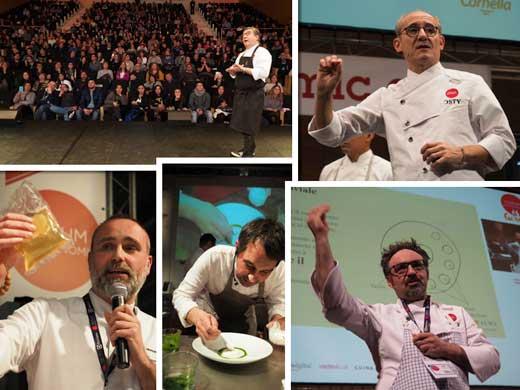 Imágenes de las ponencias del Fòrum Gastronòmic Girona 2017