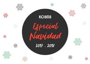 Portada del catálogo de Navidad de Koama