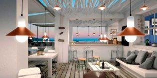 Cuatro lámparas de diseño para restaurantes