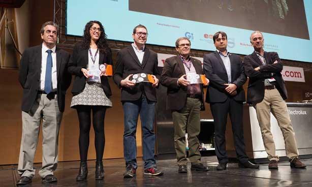 Los ganadores de los premios InnoFòrum del Fòrum Gastronòmic Girona 2017