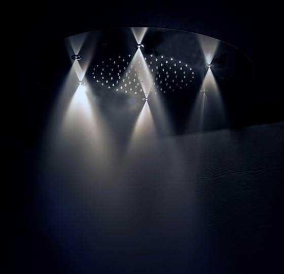 Rociador de ducha con nebulizador, de Ramón Soler