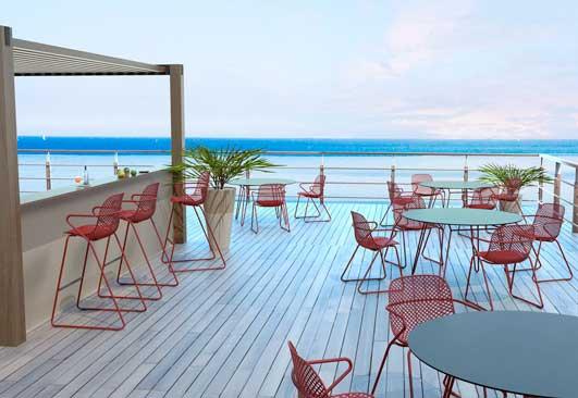 Sillas, mesas y taburetes - Ramatuelle - Grosfillex - terraza - ProfesionalHoreca