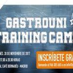 ¡Reserva tu plaza en la 2ª sesión de Gastrouni Training Camp!