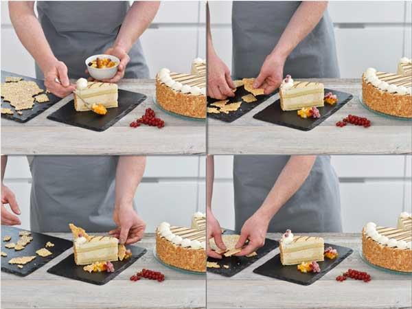 Haciendo el Pastel de Mazapán de Erlenbacher con crocanti, paso a paso