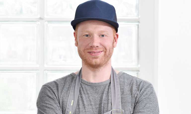 El chef Max Faber