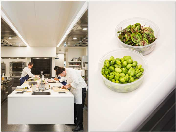 Encimeras en Dekton en The French Laundry