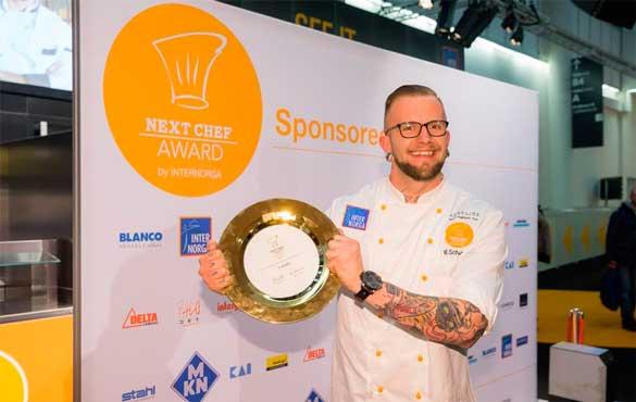 Ganador del concurso Next Chef en Internorga 2017