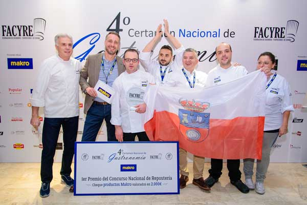 Los ganadores del Concurso Nacional de Repostería Facyre