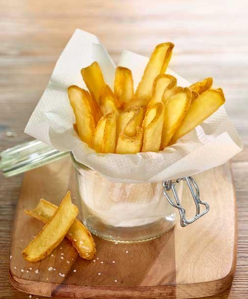 Patatas Fry'n Dip skin-on de McCain en tarro