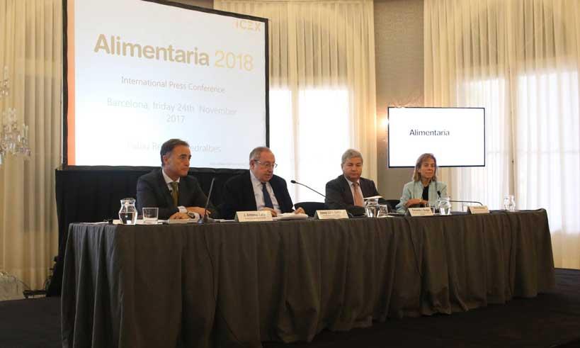 presentación oficial de Alimentaria 2018