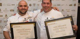 Asier Alcalde y Daniel García ganan la tercera semifinal de Cocinero del Año