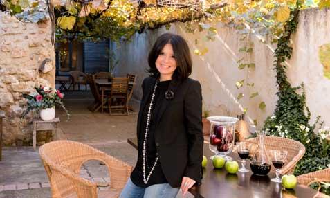 Marisa Arlandís, de la casa rural La Parra