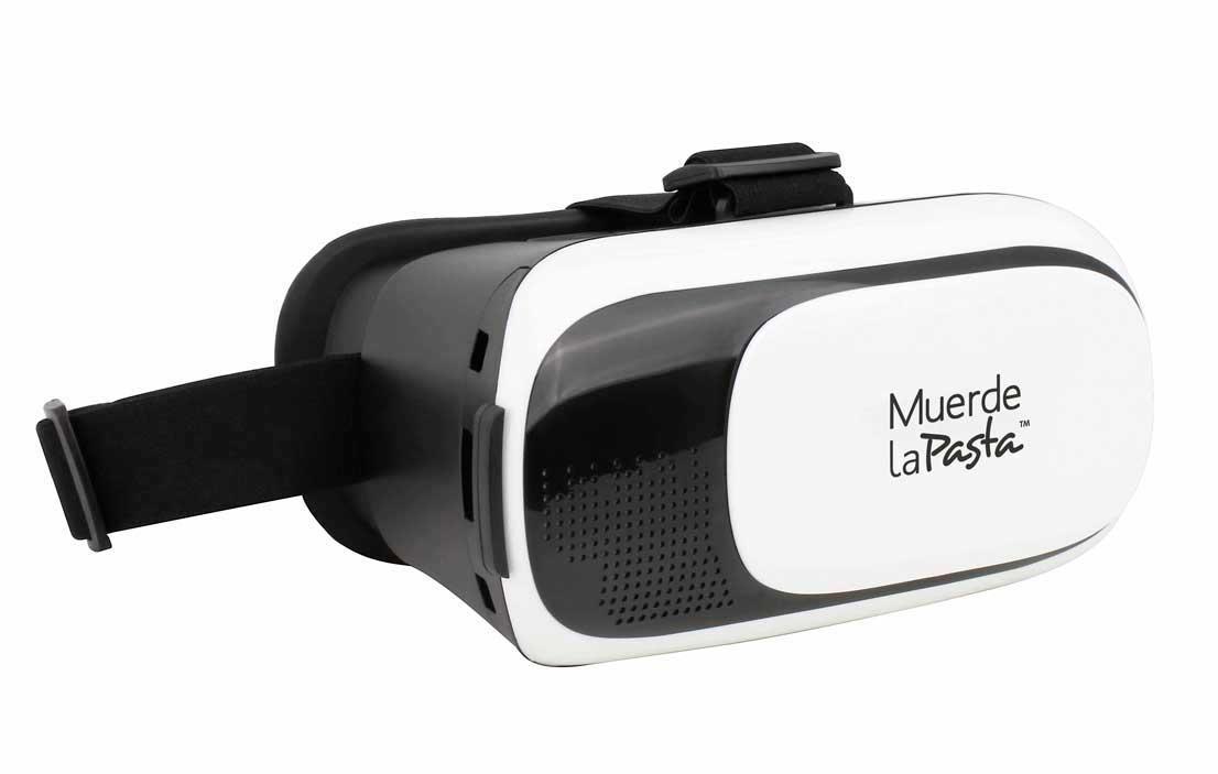 Gafas de realidad virtual de Muerde la Pasta