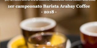 I Campeonato Barista Arabay Coffee, en la feria Horeca Baleares