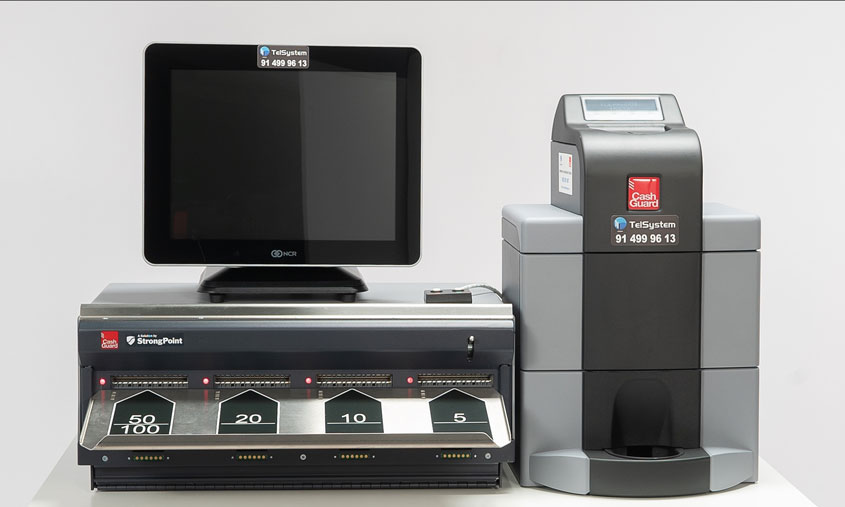 Profesionalhoreca, Cashguard, cobro, Telsystem, efectivo