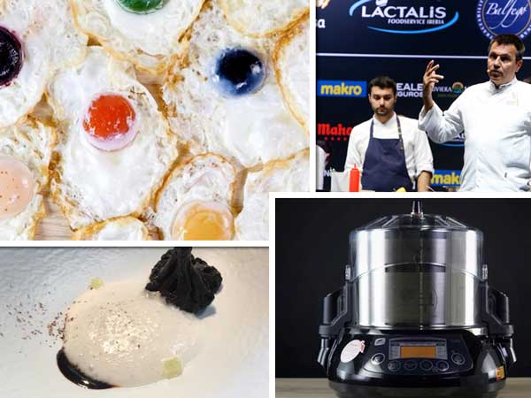 Innovaciones de los chefs de Disfrutar en Madrid Fusión