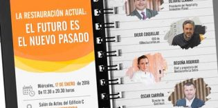 """""""La restauración actual: El futuro es el nuevo pasado"""": próximo foro GastroUni en Valencia"""