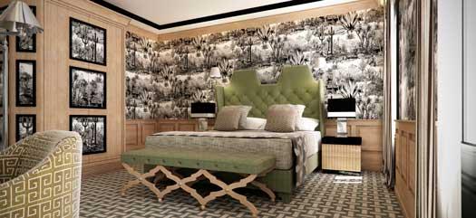 Habitación del hotel Room mate Alba, en Madrid