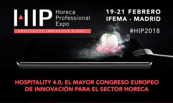 Logo del congreso de HIP 2018