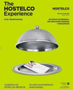 Cartel de Hostelco Live Gastronomy en The Hostelco Experience