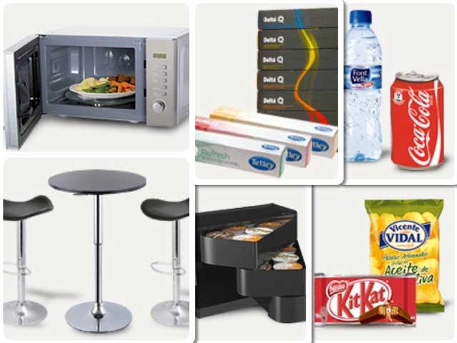 Productos de la gama de Catering de Hosteler.OD