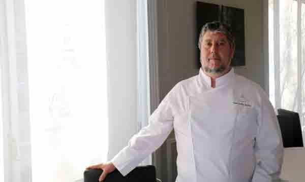 El chef José Carlos Fuentes, de El Club Allard