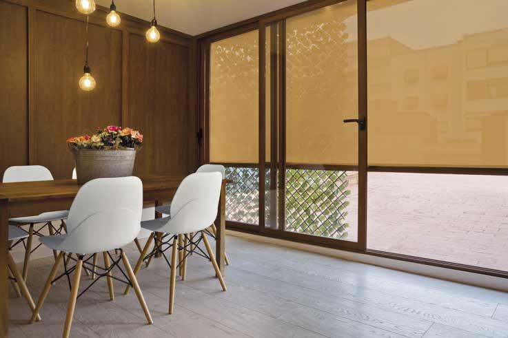 Wind screen de Saxun en el establecimiento Casa San Juan
