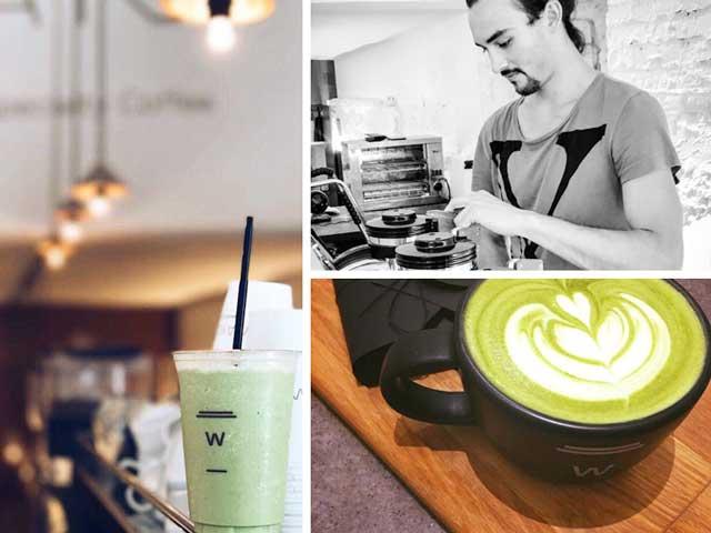El té matcha es una alternativa al café en Waycup